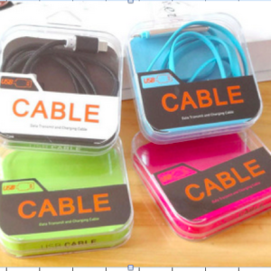 Retail Glass acrylic packaging for bulk usb cable phone accessories